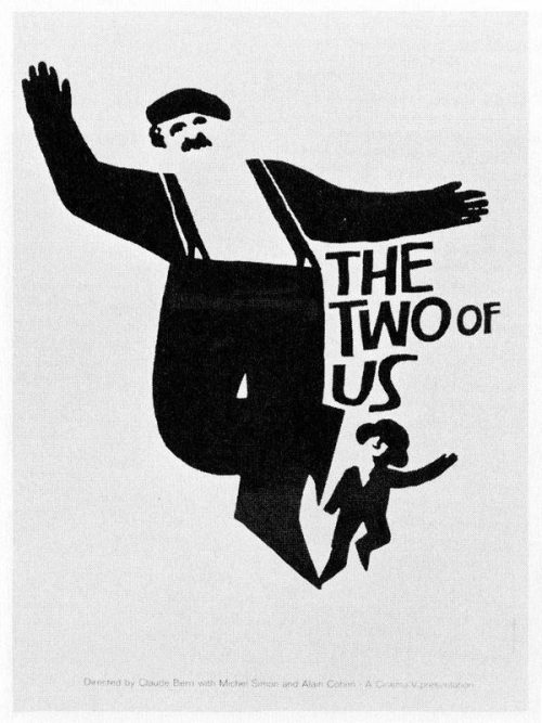 Graphic Design   Saul Bass – The Two of Us – Uploaded by use