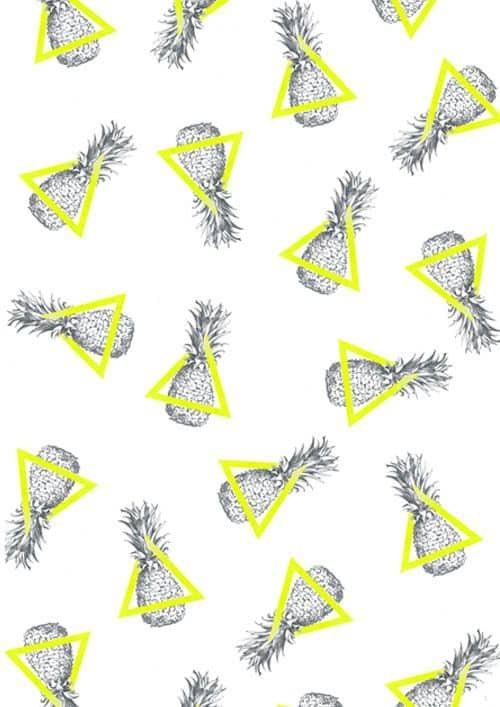 Patterns | Pineapples and Triangles Pattern