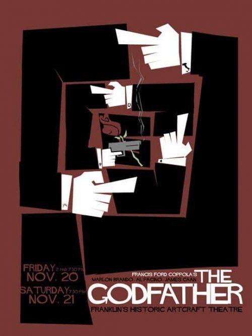 Graphic Design   Saul Bass – The Godfather – Non-Alamo Graphic Art Key Art