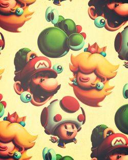 Illustration | Deconstruction Super Mario Brothers