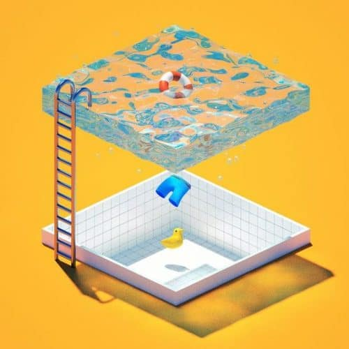 Maxon C4D Cinema 4D pool render