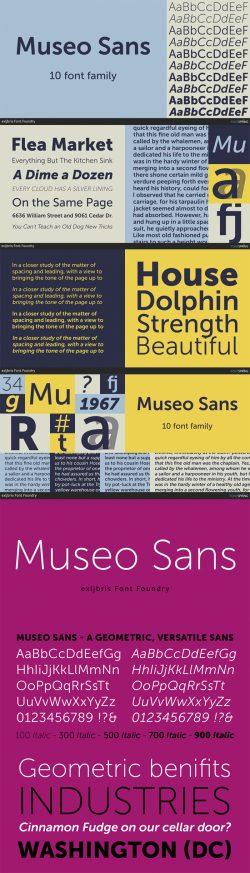 Museo Sans Font Family
