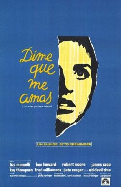 Graphic Design   Saul Bass Inspired – Dime Que Me Amas