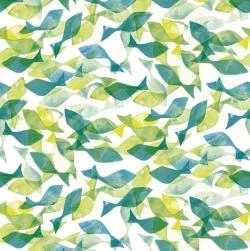 Patterns | Ditsy fish fabric by johanna design on Spoonflower custom-