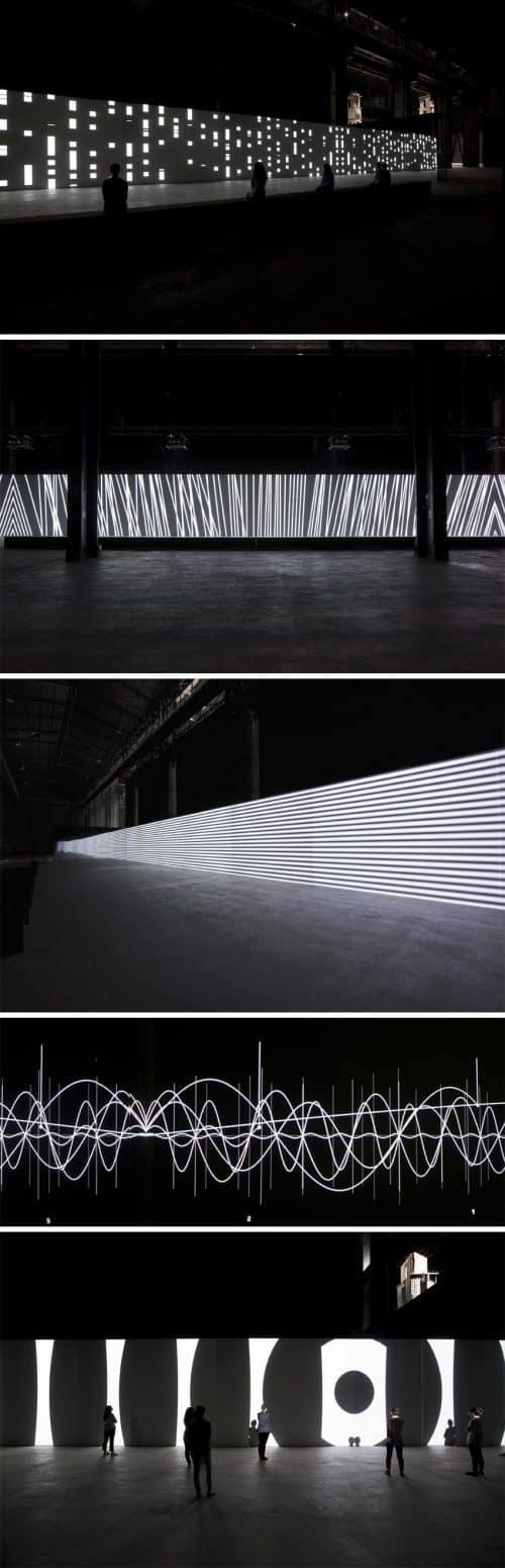 Neon | Neon Light Installation – Carsten Nicolai Unidisplay