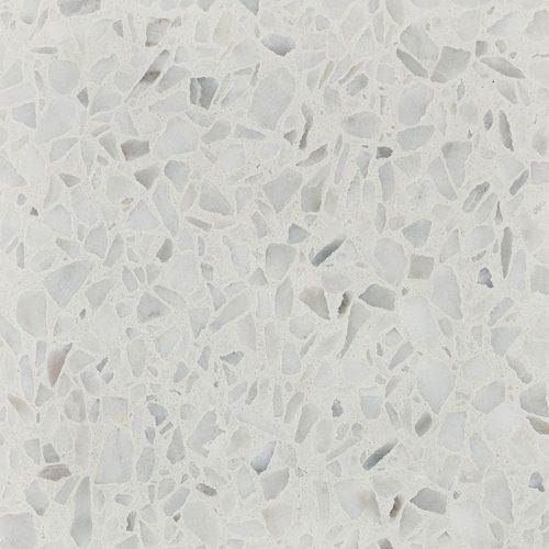 Textures | Arctic Ice Fibonacci terrazzo stone Possible option for