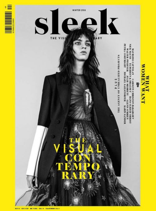 Graphic Design | Magazine | Mario Lombardo – Sleek Magazine 02