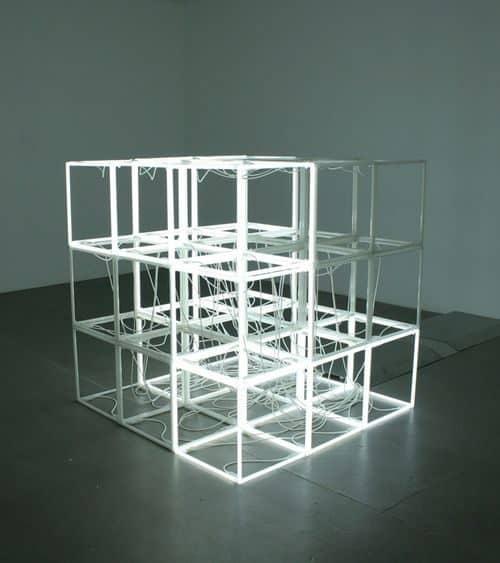 Neon   Neon Cubes – Jeppe Hein 2006