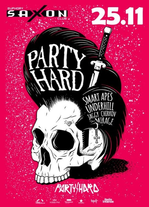 Graphic Design | Poster | Party Hard