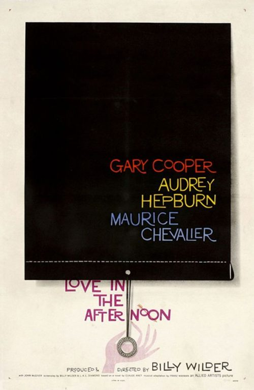 Graphic Design | Saul Bass – Love in the Afternoon
