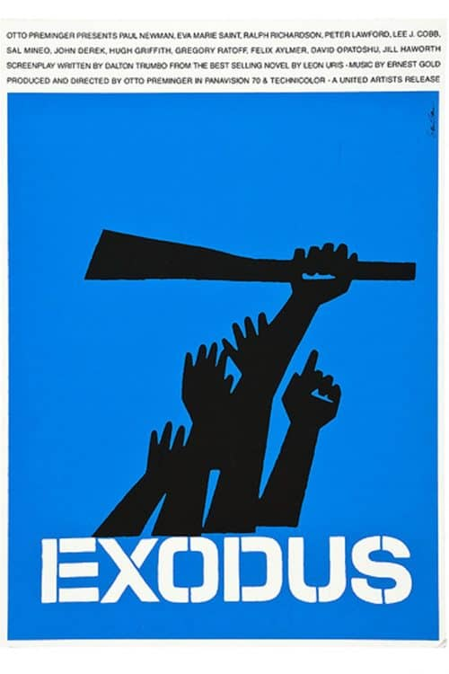 Graphic Design | Saul Bass – Exodus