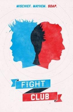 Graphic Design | Saul Bass Inspired – Fight Club Key Art