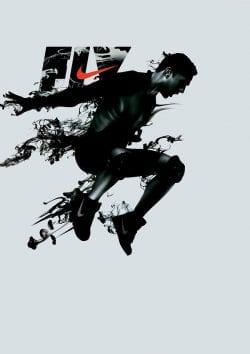 Graphic Design | Poster | kiss my black ads Nike Run