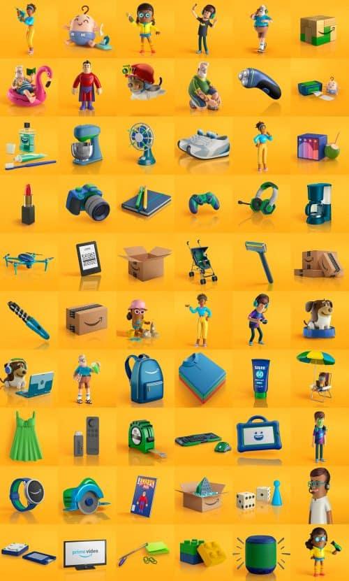 Amazon Retail 3D