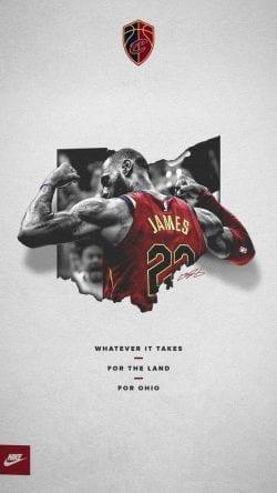 Lebron James Nike Poster Design