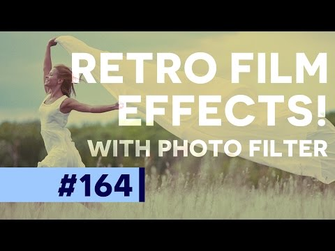 Retro Toning, VSCO Style, and Sepia images in Photoshop