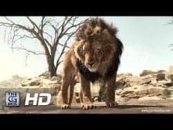"VFX | CGI & VFX Breakdowns: ""African Lion"" – by Joyce Kambey"