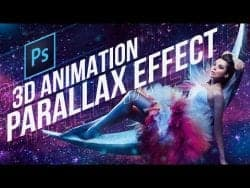 TUTVID | Photoshop CC 3D Animation Parallax Effect Tutorial (Very cool!)