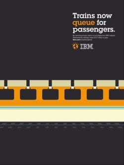 Graphic Design | Saul Bass Inspired – Noma Bar – Trains now queue for passengers