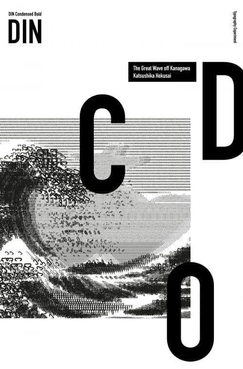 Graphic Design | The great wave – Julia Buchmann