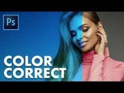 TUTVID | Color Correction and White Balance Photoshop