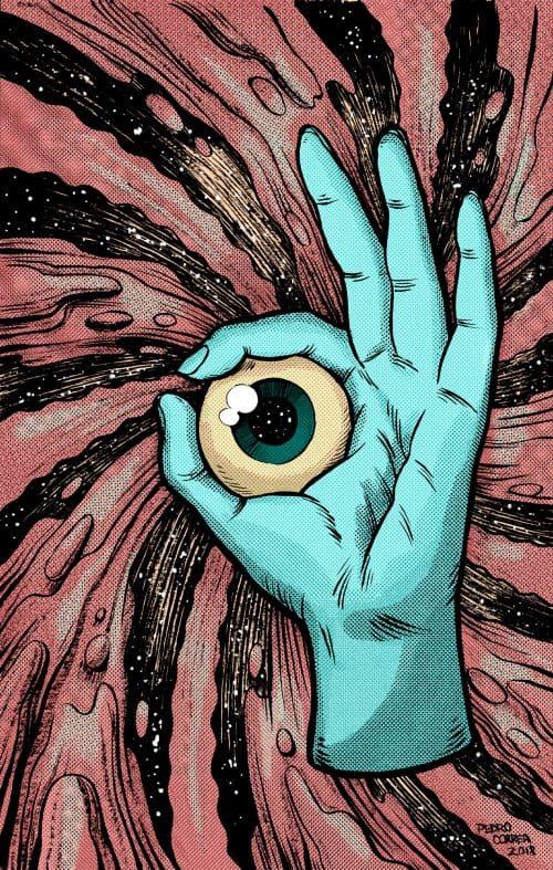 Cosmic Eyeballs on Behance