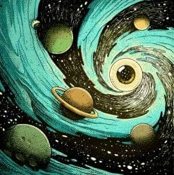 Illustration | Cosmic Eyeballs – Pedro Correa