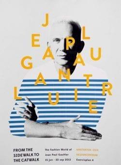 Graphic Design | Poster | Jean Paul Gaultier Exhibition