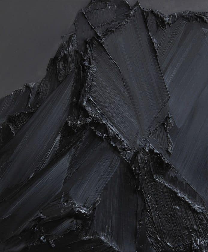 Textures | Black 黒 Kuro Nero Noir Preto Ebony Sable On