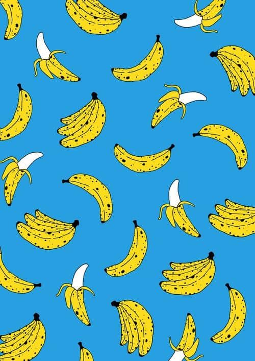 Patterns | Banana Print (For Sale) from society6co