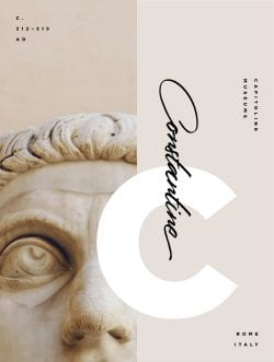 Graphic Design   Art Appreciation: Colossus of Constantine   Nubby Twiglet