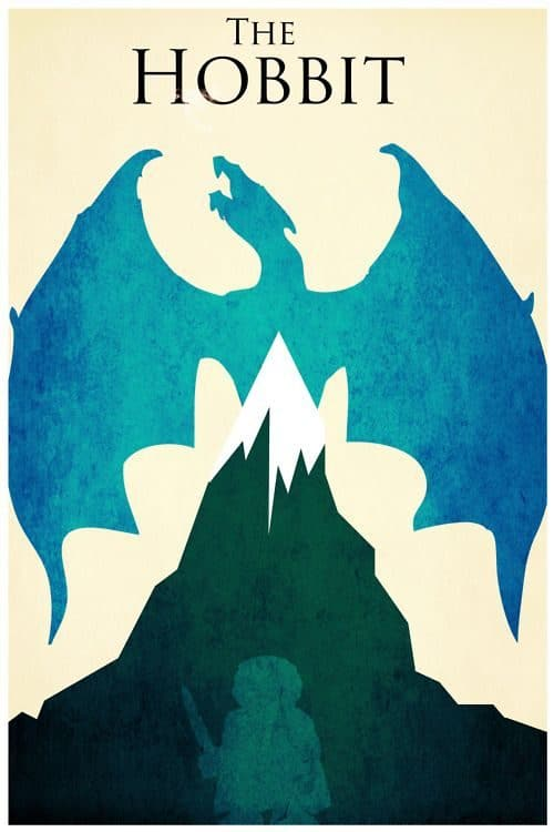 Graphic Design | Saul Bass – The Hobbit minimal