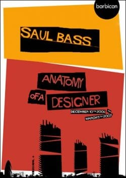 Graphic Design | Saul Bass Inspired – barbican