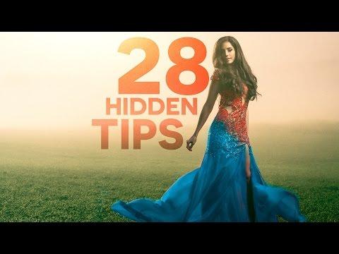 PHOTOSHOP: 28 Powerful Hidden Tips, Tricks, & Features!