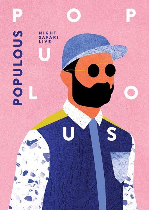 Graphic Design | Magazine | Populous – Night Safari
