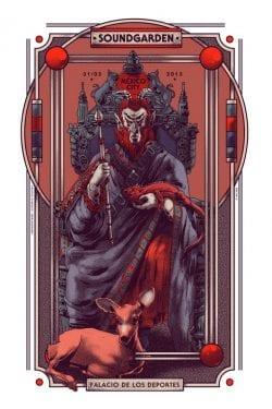 Graphic Design | Poster | Gig Poster for Soundgarden