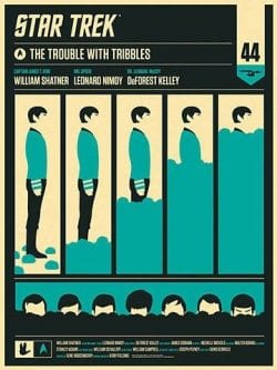 Graphic Design | Saul Bass Inspired – Tribbles