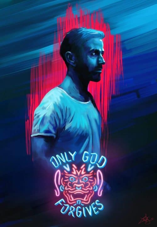 Graphic Design | Poster | Alternative movie poster – Only God Forgives