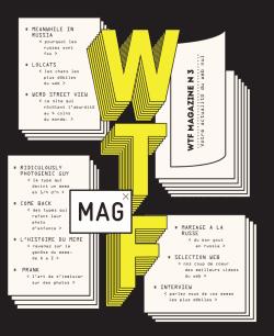 Graphic Design | Magazine | WTF MAGAZINE