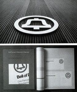 Graphic Design   Saul Bass – Logo and signage for AT