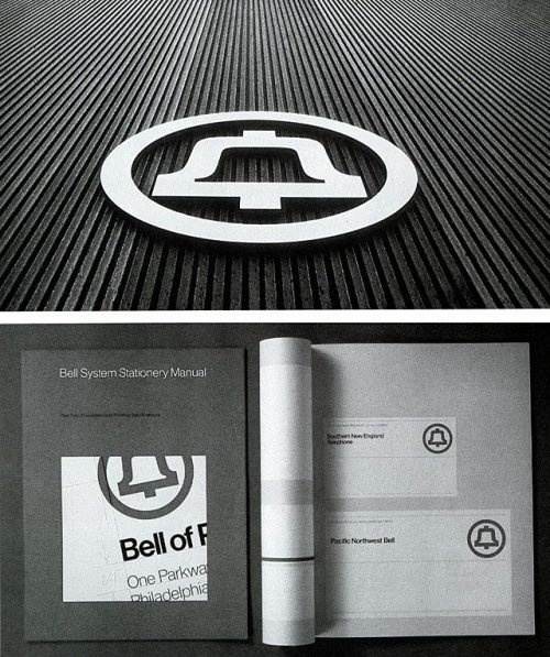 Graphic Design | Saul Bass – Logo and signage for AT