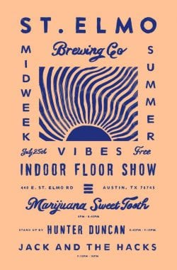 Graphic Design | Poster | Floor Show Night II by Keith Davis Young