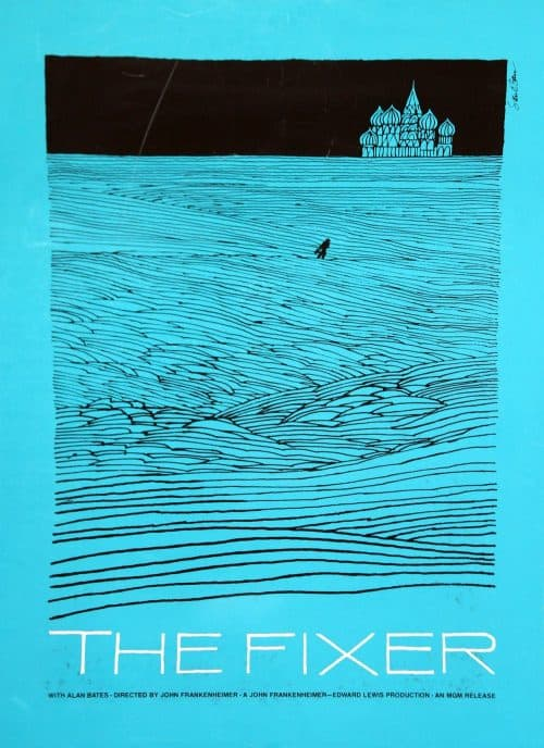 Graphic Design | Saul Bass – The Fixer Poster