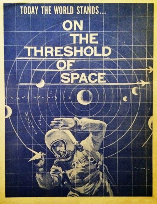 Graphic Design | Saul Bass – On The Threshold of Space – Unseen Key Art