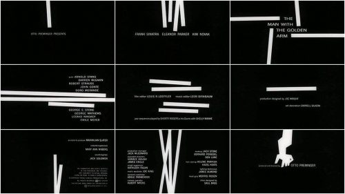 Graphic Design | Saul Bass – Title Sequence Style Frames