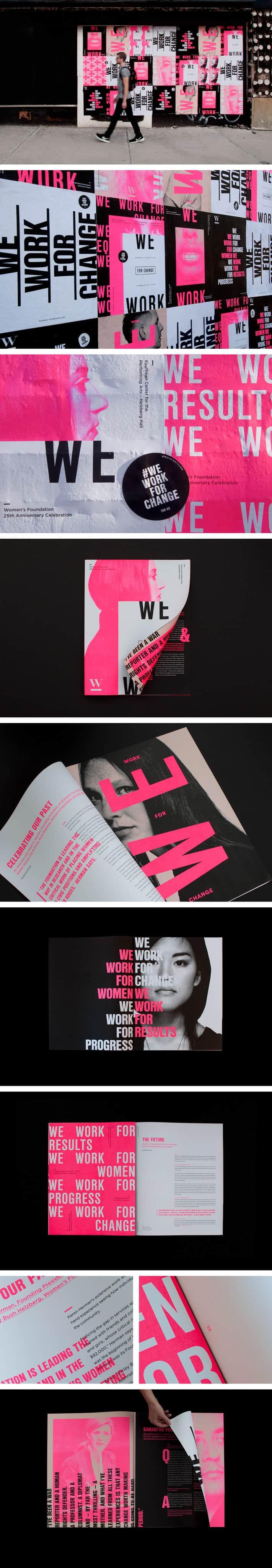 Women's Foundation 25th Anniversay Campaign