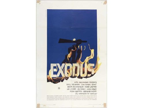 Graphic Design | Saul Bass – Exodus – Unseen Key Art