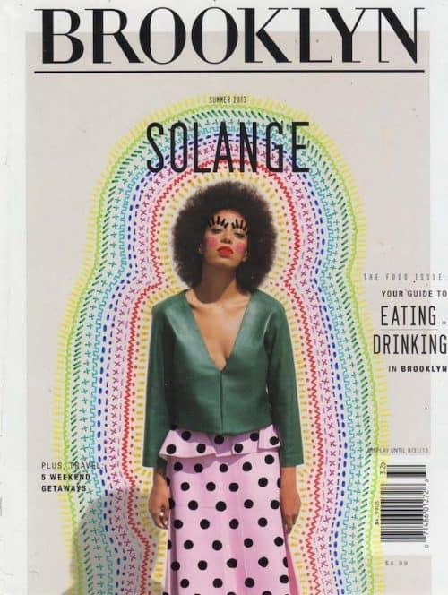 Graphic Design | Magazine | Brooklyn Solange
