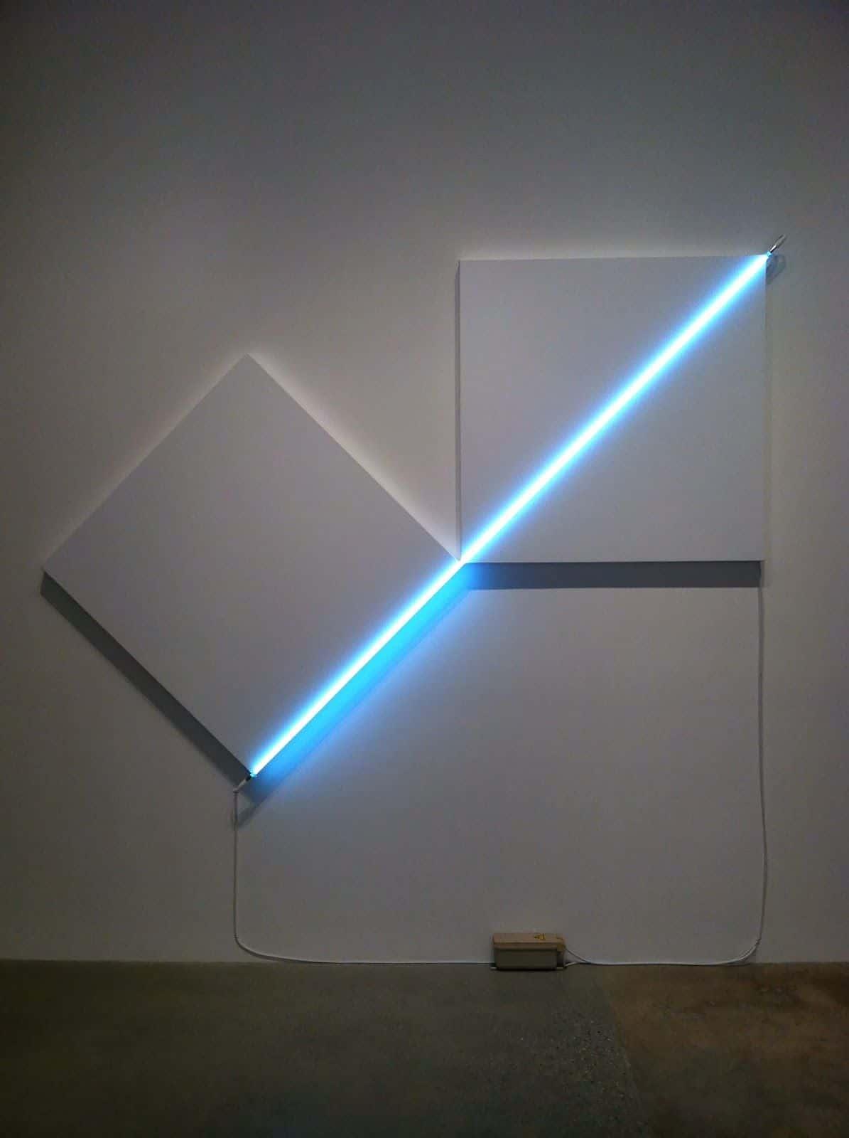 Neon   Neon Installation – François Morellet