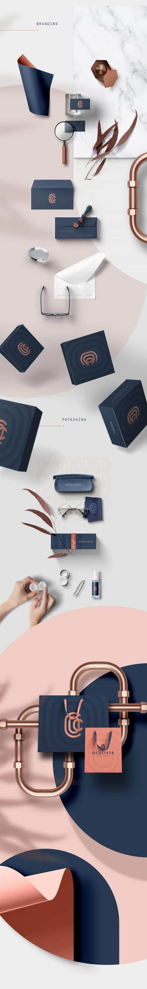 Oculista Eyewear Visual Branding Design 02